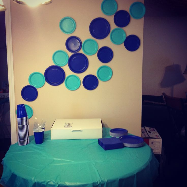 This is my daughter's bubble theme birthday party