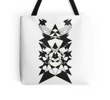 Black Third Eye 7 Tote Bag