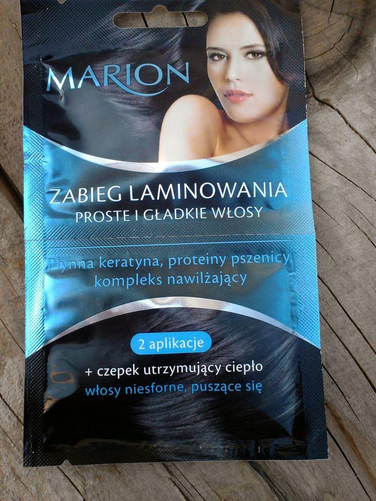 Marion- zabieg laminowania włosów. Zapraszam na recenzję na bloga ;)