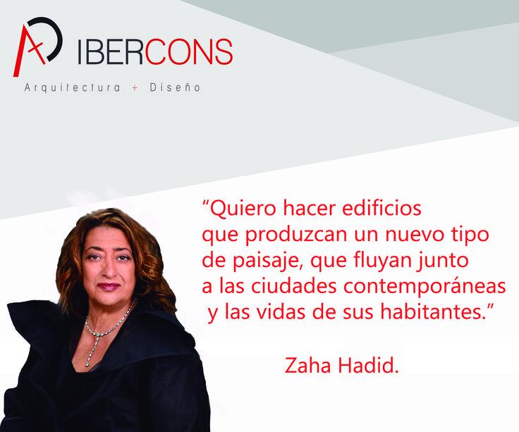 Los #lunes en Ibercons Arquitectura + Diseño estamos inspirados por lo grandes arquitectos como Zaha Hadid. Visita nuestra página web: www.ibercons.com.co