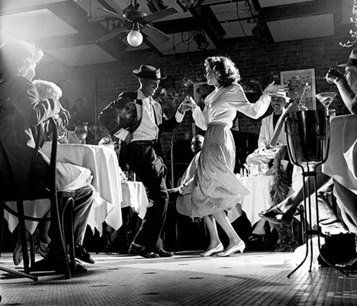 This is a 1920s Jazz Club. Jazz was very big in the 20s and many dances were…