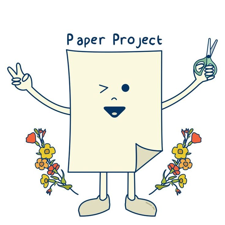 © 2017 | Client: @paperproject.id on Instagram – Logo for Paper Project.