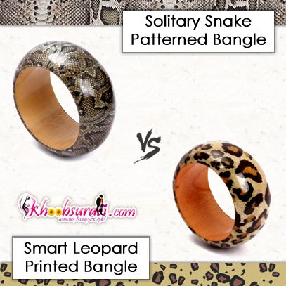 Get This Solitary Snake Patterned bangle From http://khoobsurati.com/jewellery/bangles-bracelets