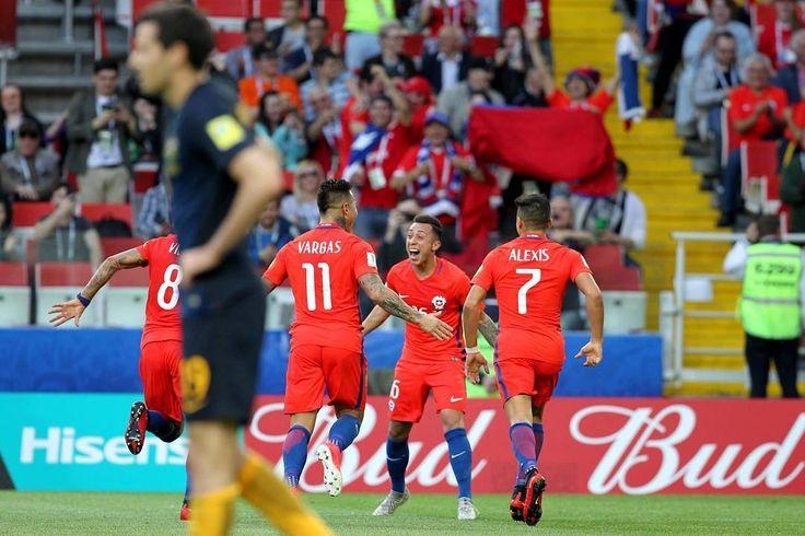 Clasificó @laroja! Con gol de Martín Rodríguez Chile empató con Australia y se viene Portugal el miércoles a las 14:00. Sigue todas las noticias por Cooperativa