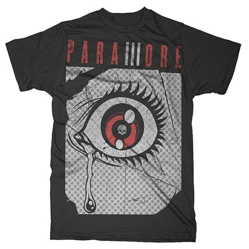 paramoremusic: upcoming Paramore shirt designs