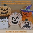These are great Hallowe'en Crafts!  Includes step-by-step instructions and templates needed to create everything PUMPKIN. Templates for 2 different...