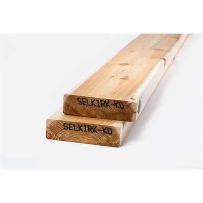 2 x 6 Western Red Cedar Lumber