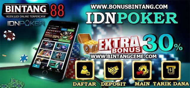 Situs Poker Online Terpercaya Bintang88 Poker Online Bonus