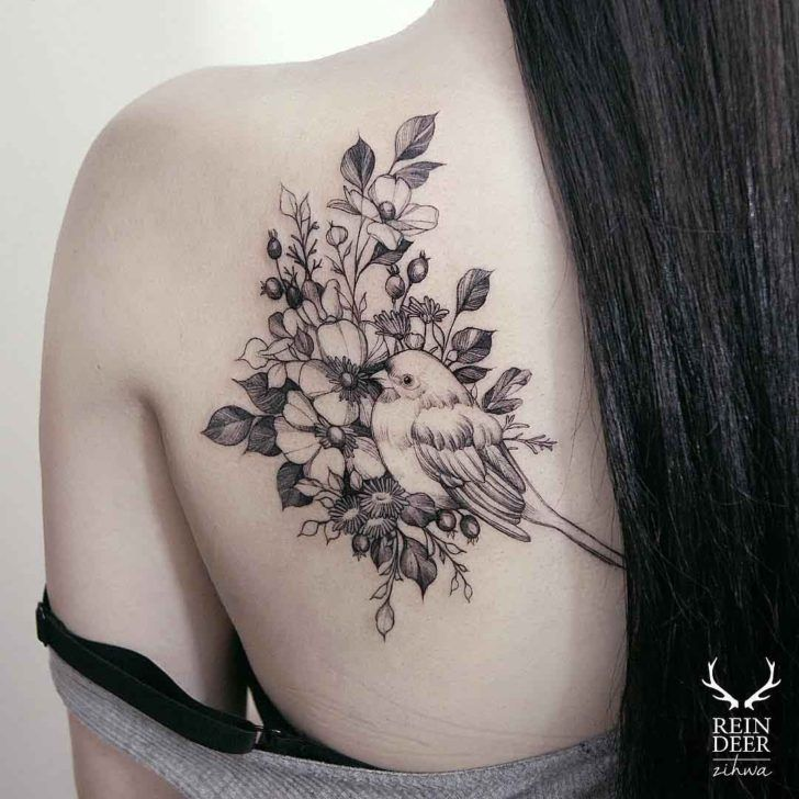 Shoulder Tattoo Quotes: Best 25+ Shoulder Blade Tattoos Ideas On Pinterest