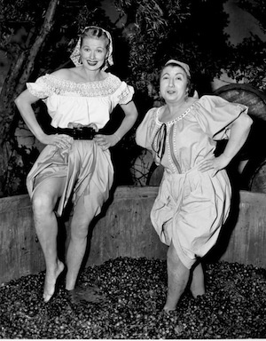 Lucille Ball. I of my favorite I Love Lucy shows.