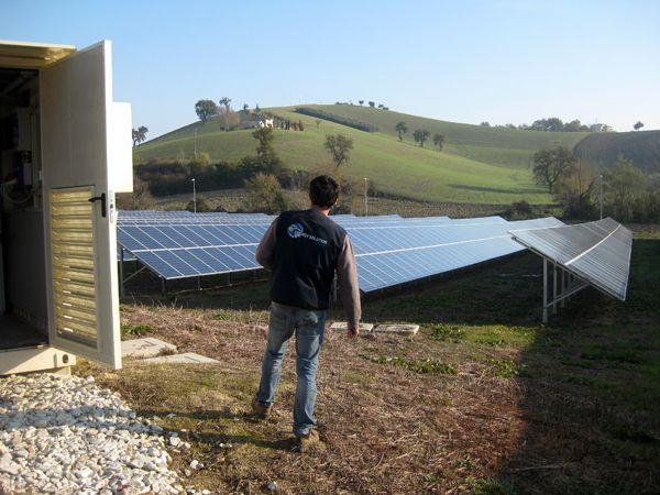 Campo fotovoltaico