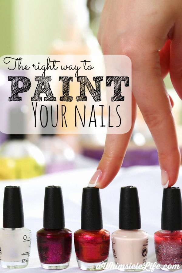 The secret to smudge-free, no-clump nails lies in this post. I've been painting my nails the wrong way my whole life. In truth, it boils down to two simple things: nail prep and painting technique. Includes a video that illustrates both.