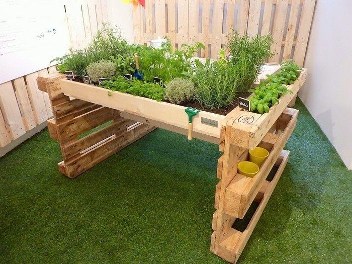 13 Tremendous Garden Ideas Rectangle Ideas In 2020 Pallets Garden Garden Projects Garden Beds