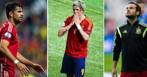 Euro 2016: Diego Costa, Juan Mata & Fernando Torres not in Spain squad ~ wangwazi.blogspot.com
