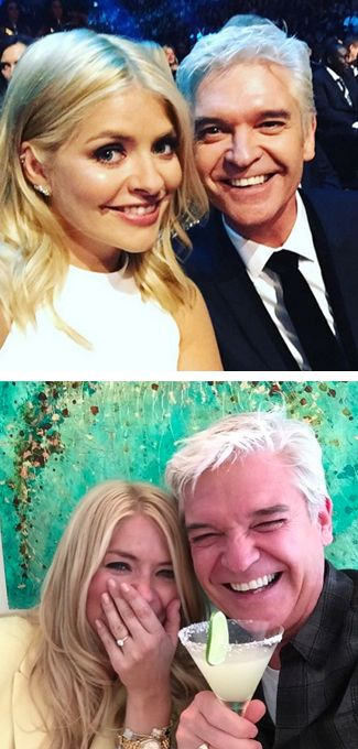 LOL. Fans think Holly Willoughby and Philip Schofield are dating...