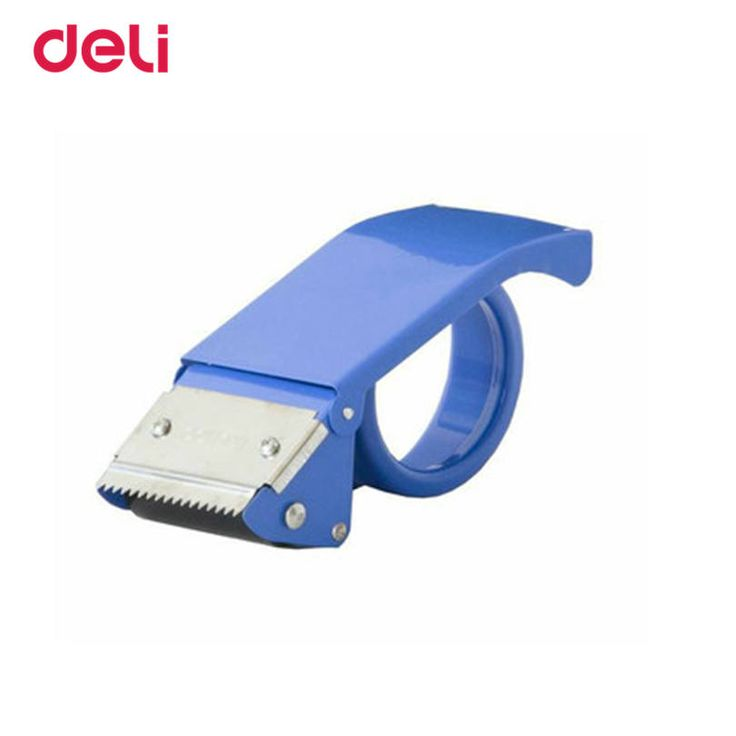 Deli Tape Dispenser For Office supplies Adhesive Tape large Width 48 mm Tape Cutter Carton Sealer portable tape