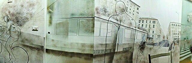 Murales in casa Canali