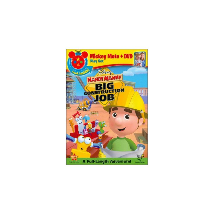 Handy Manny: Big Construction Job [With Mickey Mote Toy]