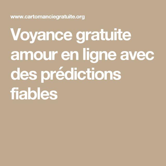 Voyance gratuite amour en ligne avec des prédictions fiables