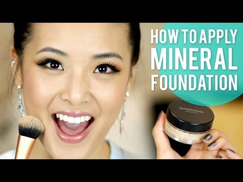 How to Apply Mineral Foundation (BareMinerals) - YouTube