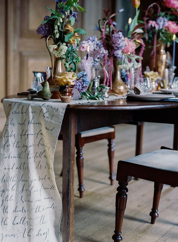 To The Manor ~ Scottish wedding inspiration