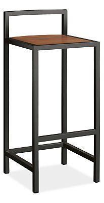 Montego Bar Stool - Bar Tables & Stools - Outdoor - Room & Board - Graphite - $499