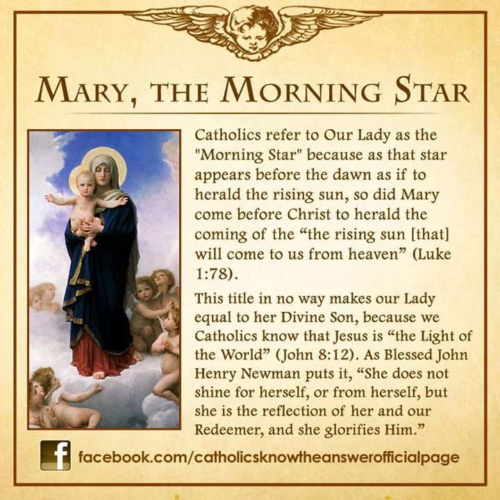 Mary the Morning Star