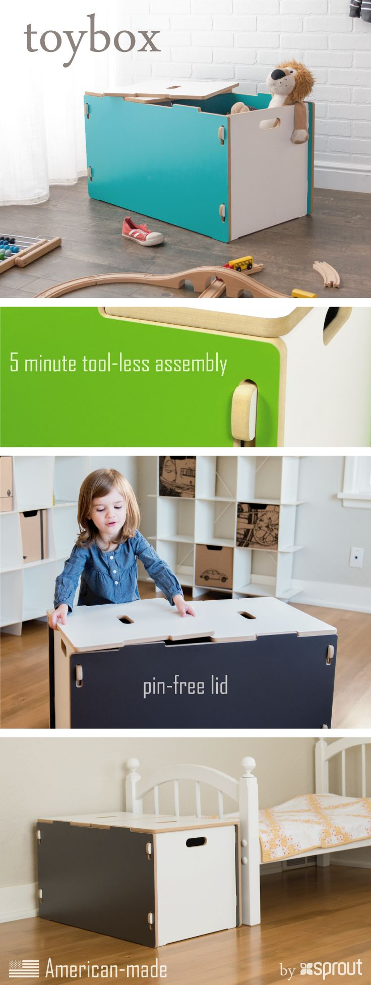 Modern Toy Box Living Room: Best 25+ Kids Toy Boxes Ideas On Pinterest
