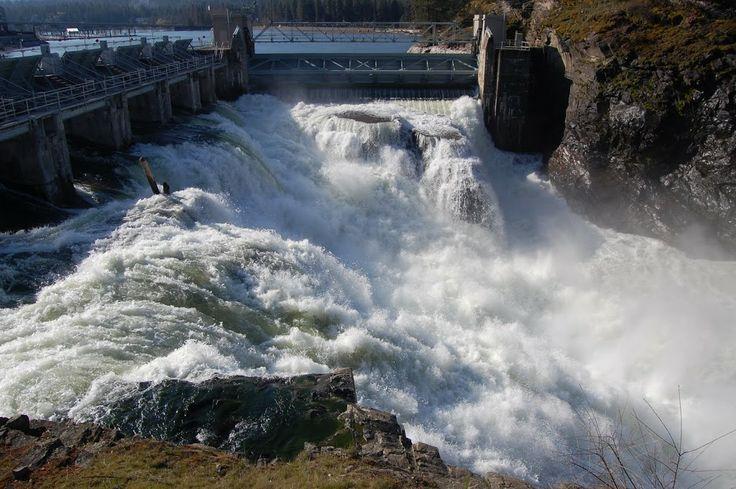 post falls, idaho | Post Falls, Idaho | The Waterfall Record