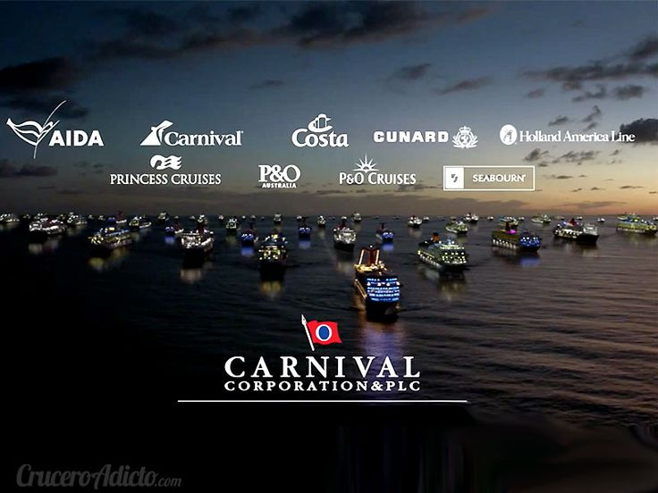 3 nuevos mega barcos de cruceros para el grupo Carnival