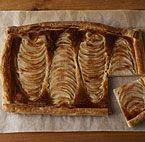 Pear-Hazelnut Tart in a Puff-Pastry Crust