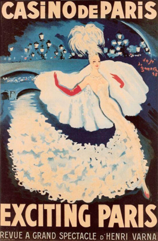 Casino de Paris, Exciting Paris, revue à grand spectacle d'Henri Varna by De Zamora Jose / 1948