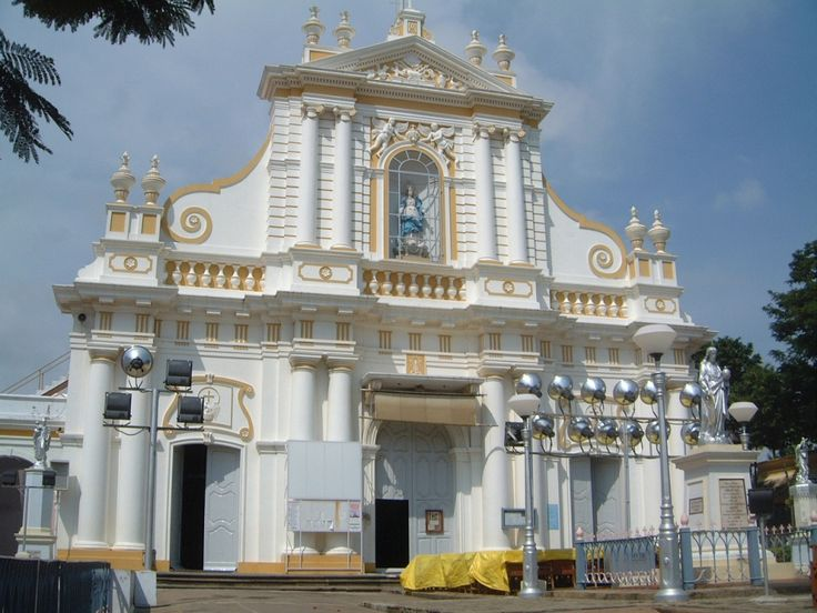 "The famous french church of Pondicherry From ""Visit Pondicherry and Get a Taste of French Culture"""