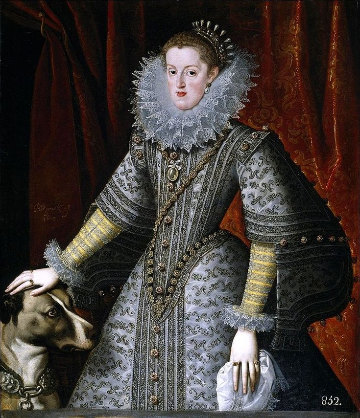 La reina Margarita de Austria-Estiria, esposa de Felipe III
