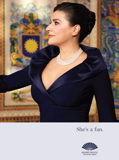 Cecilia Bartoli - Mezzo-soprano opera singer and recitalist: http://www.mandarinoriental.com/celebrity-fans/