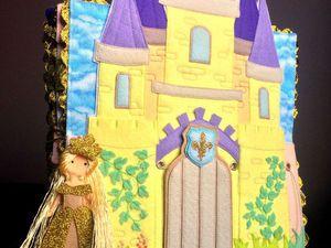 """Развивающая книжка """"Волшебный замок принцессы"""" - Ярмарка Мастеров - ручная работа, handmade"""