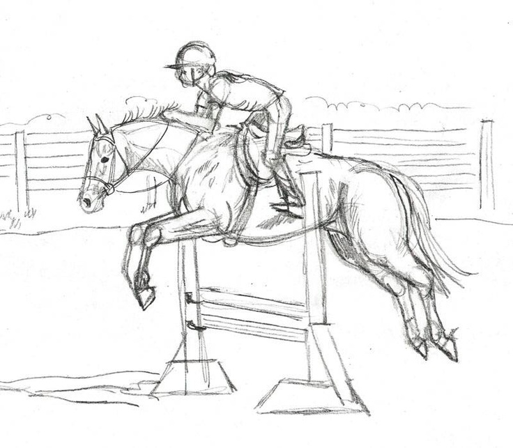 Inspirational Horse Jumping Coloring Pages 87 Draw a Jumping Show