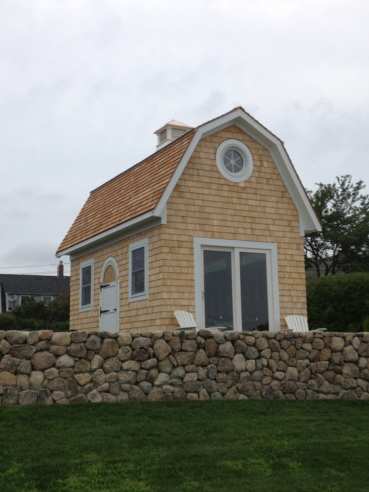 Ocean Side Studio We Built In W. Yarmouth, Massachusetts.... Garden  BuildingsSmall CottagesGarden ShedsOutdoor ...