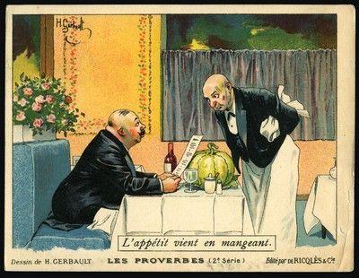 6. Lappétit vient en mangeant (Lappetito vien mangiando), 1908-10