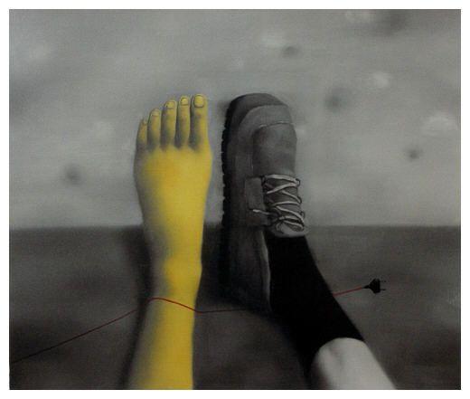 """Zhang Xiaogang, """"Amnesia and memory"""", 2006"""