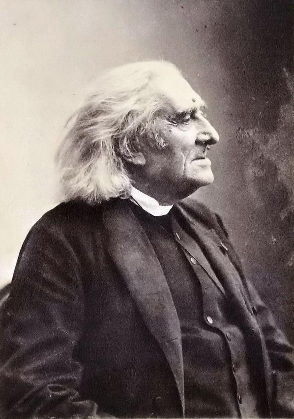 Franz Liszt, composer, c1880 - Photographer: PAUL NADAR, Paris