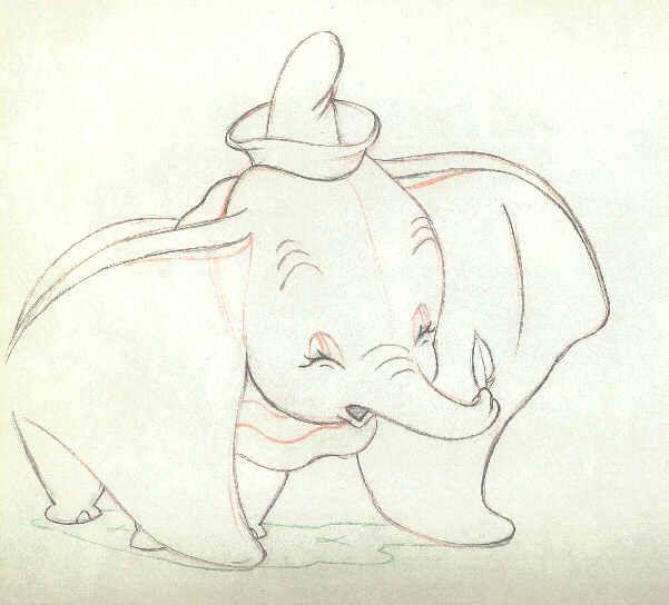 Baby Dumbo Drawing