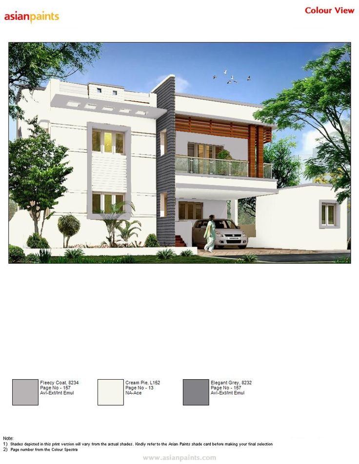25 best color combination for exterior images on pinterest exterior color combinations and colour - Asian paints exterior colour combinations plan ...