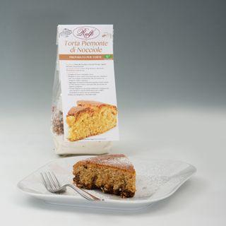 Preparato per Torta Piemonte di Nocciole......Vieni a trovarci sul sito www.rulfi-cake.my...