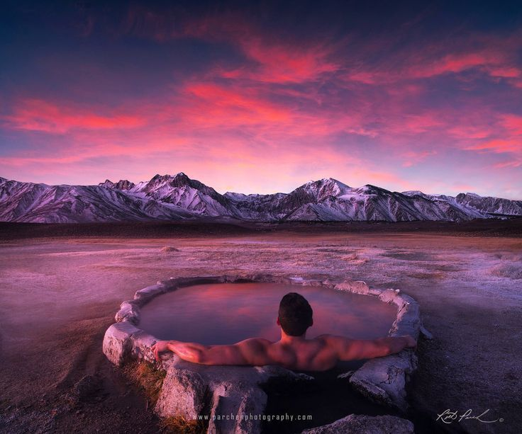 Morning soak with a view by Rick Parchen – Photo 131543689 – 500px – #500px #Mor…