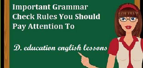 free check your english grammar