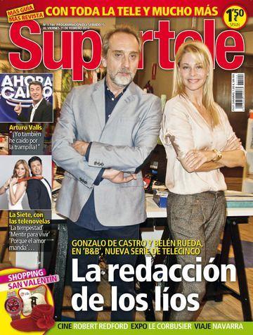 Belén Rueda, Gonzalo de Castro, B&B, de boca en boca (2014), Supertele Magazine [Spain] (15 February 2014)