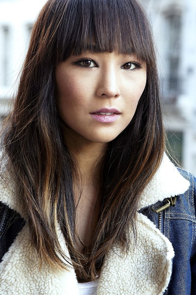 Greta Lee.... amazing fuckin hair cut . #bangs #hair