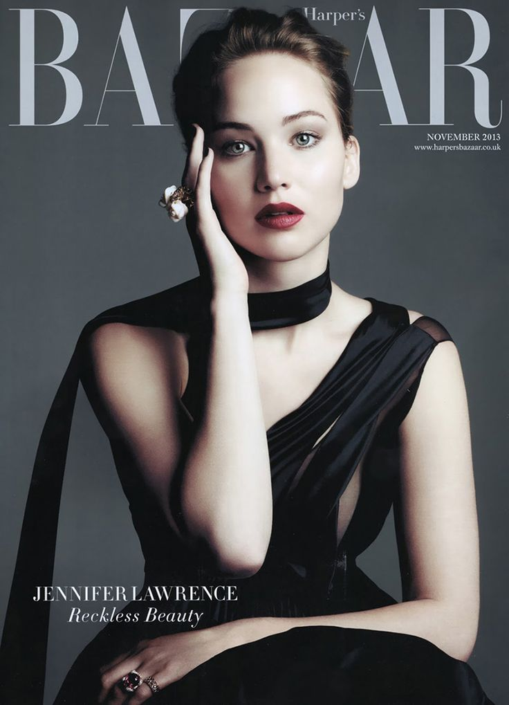 Jennifer Lawrence Harper's Bazaar UK November 2013