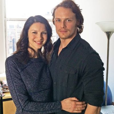 Caitriona Balfe with cool, Boyfriend